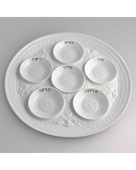 Bernardaud - Louvre Mini Seder Plates, Set of 6