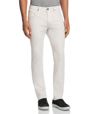 BLAKE SLIM STRAIGHT FIT JEANS IN OFF WHITE