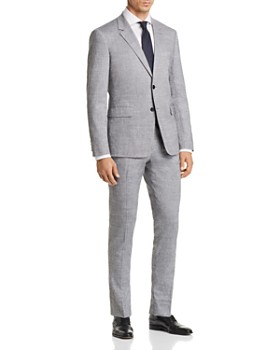 Theory - Solid Slubbed Summer Slim Fit Suit Separates