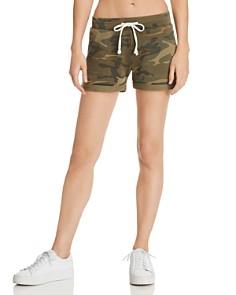ALTERNATIVE - Camo Drawstring Shorts