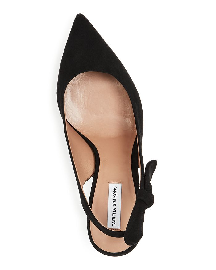 ff44e0b7aa4 Tabitha Simmons Women s Millie Slingback Pointed Toe Pumps ...