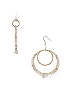 9290f4e3fffd Chan Luu - Double Loop Drop Earrings ...