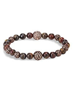 John Hardy Legends Naga Bronze & Tiger Iron Beaded Bracelet - Bloomingdale's_0