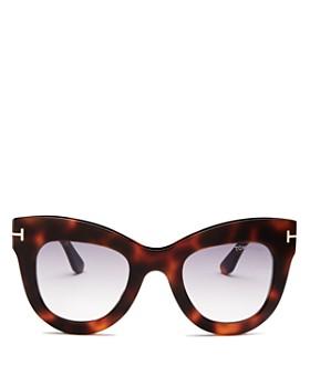 Tom Ford - Women's Karina Cat Eye Sunglasses, 47mm