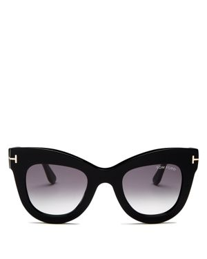 Tom Ford Women's Karina Cat Eye Sunglasses, 47mm