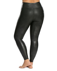SPANX® - Plus Faux Leather Leggings