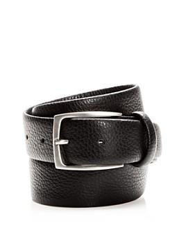Canali - Men's Tumbled Leather Belt