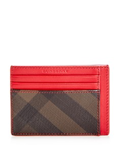 Burberry Bernie Check Leather Card Case - Bloomingdale's_0