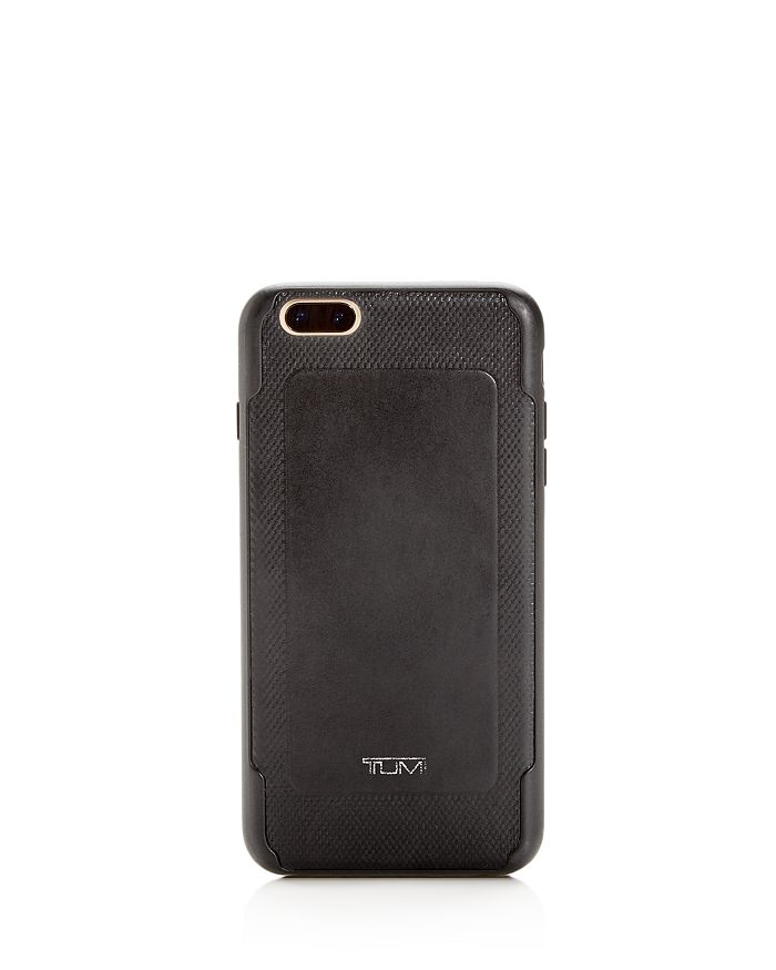Tumi Coated Canvas Iphone 6 Plus/6s Plus Case In Black