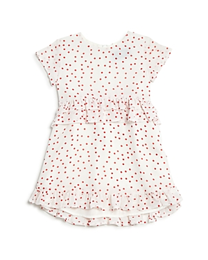 Bardot Junior Girls Ruffled Birdie Spot Dress  Baby