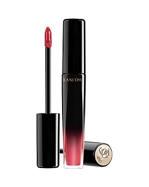 What It Is: Buildable, long-wear, high-shine lip color that feels ultra lightweight and hydrating on lips. What It Does: This innovative lip lacquer combines the comfort and shine of a gloss, the pigment of a lipstick and the lasting power of a stain. Lancome\\\'s innovative oil-in-water emulsion is lightweight and non-sticky, providing up to six hours of wear. Enriched with glycerin, lips feel hydrated throughout the day. The high-shine finish and vivid color payoff are buildable from sheer to ful