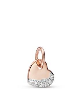 Dodo - More Love Diamond Heart Charm f6929e0dae