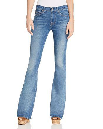7 For All Mankind - Ali Flare Jeans in Heritage Artwalk
