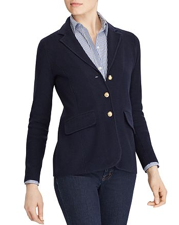 Ralph Lauren - Knit Sweater Blazer