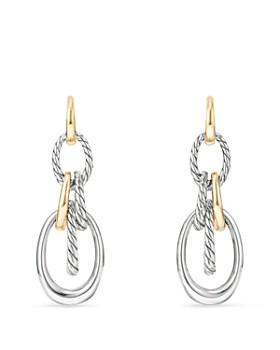 David Yurman - Pure Form Drop Earrings with 18K Gold