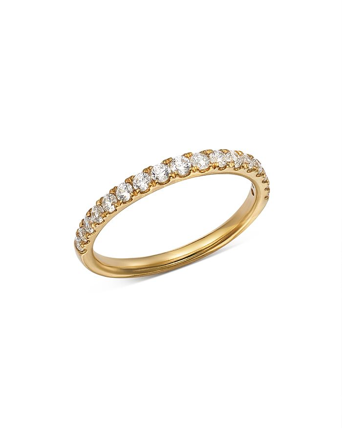 Bloomingdale's - Diamond Shared Prong Stacking Band in 14K Yellow Gold, 0.50 ct. t.w. - 100% Exclusive