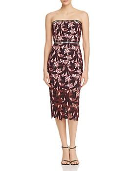 Elliatt - Strapless Lace Midi Dress - 100% Exclusive