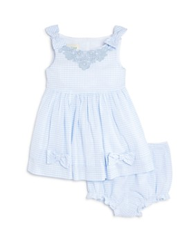 Pippa & Julie - Girls' Vintage Striped Dress & Bloomers Set - Baby