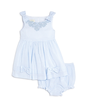 Pippa  Julie Girls Vintage Striped Dress  Bloomers Set  Baby