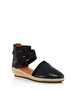 Gentle Souls by Kenneth Cole - Women's Noa-Beth Leather Platform Espadrilles
