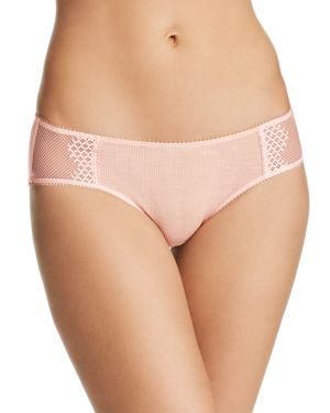 ON GOSSAMER MODAL SILK LACE HIPSTER