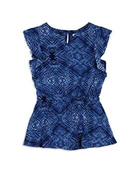 Splendid - Girls' Ruffled Printed Dress - Little Kid