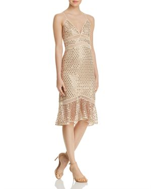 CHAMP SEQUINED DRESS