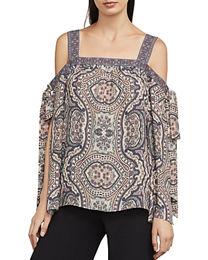 Bcbgmaxazria Kail Cold-Shoulder Top