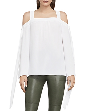 Bcbgmaxazria Jorden Cold-Shoulder Top
