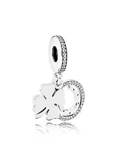 PANDORA Sterling Silver Lucky Day Charm - Bloomingdale's_0