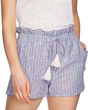 1.state Striped Chambray Shorts