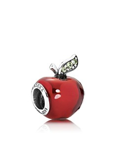 PANDORA Sterling Silver Disney Snow White's Apple Charm - Bloomingdale's_0