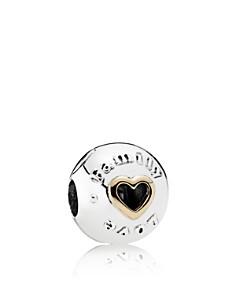 PANDORA - Sterling Silver Family & Love Clip