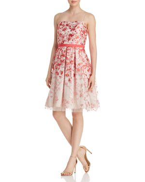 Eliza J Floral Organza Dress 2970342