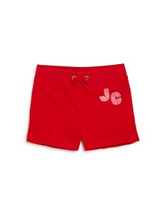 Juicy Couture Black Label Girls' Graphic Terry Shorts - Little Kid, Big Kid - Bloomingdale's_0