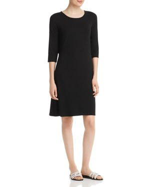 Eileen Fisher Drawstring-Back Dress 2877348