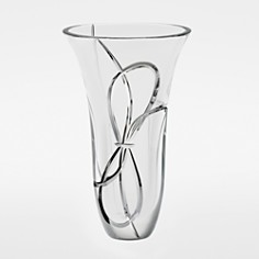 "Vera Wang for Wedgwood ""Love Knots"" Vase, 10"" - Bloomingdale's_0"