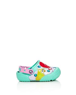 Crocs x Nickelodeon Girls' Shimmer and Shine Light-Up Clogs - Walker, Toddler, Little Kid