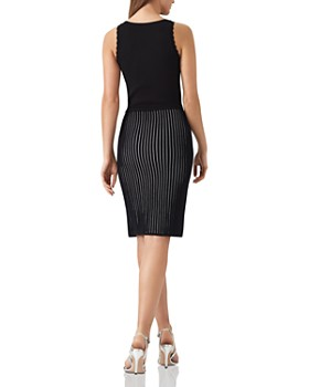 REISS - Harper Ribbed-Knit Dress