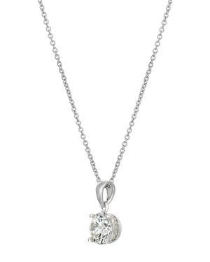 CRISLU Crislu Pendant Necklace, 16 in Silver