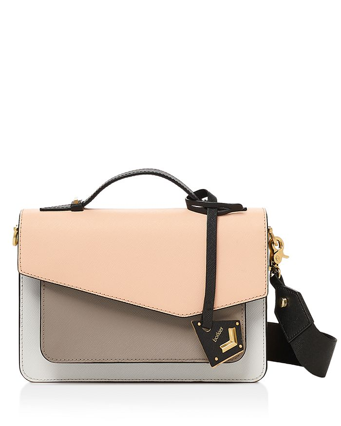 Botkier - Cobble Hill Color-Block Leather Crossbody