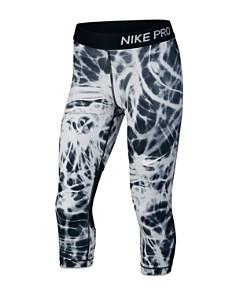 Nike - Girls' Smoke-Print Pro Capri Leggings - Big Kid