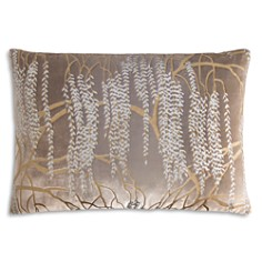 "Kevin O'Brien Studio - Willow Velvet Decorative Pillow, 14"" x 20"""