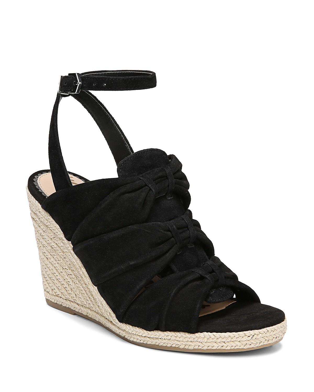 Sam Edelman Women's Awan Suede Espadrille Wedge Sandals Upq9EHK