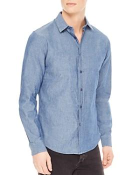 Sandro - Chambray Slim Fit Button-Down Shirt