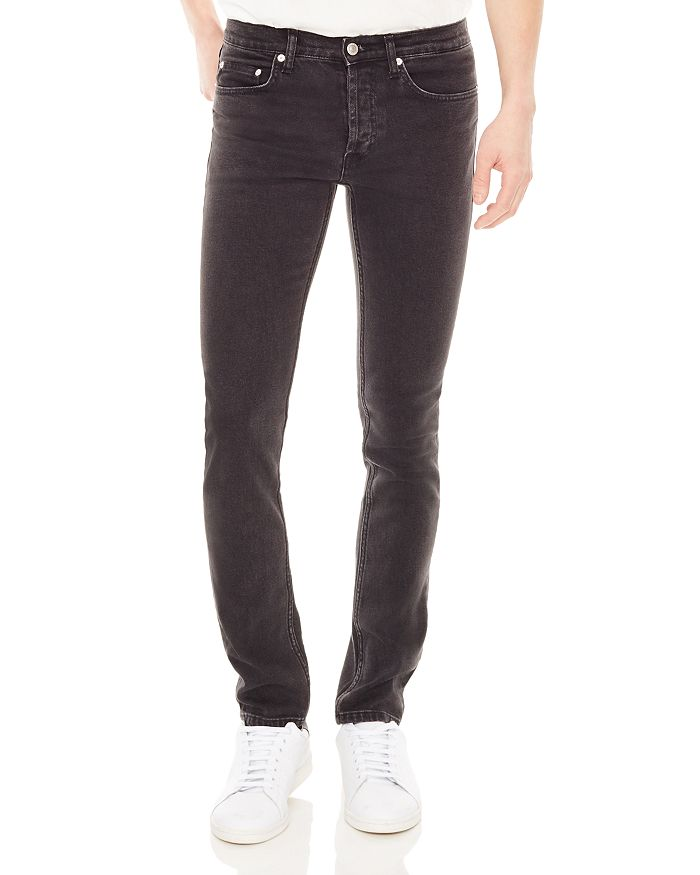 Sandro - Iggy Destroy Slim Fit Jeans in Gray