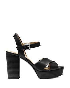 MICHAEL Michael Kors - Women's Divia Leather Platform Sandals