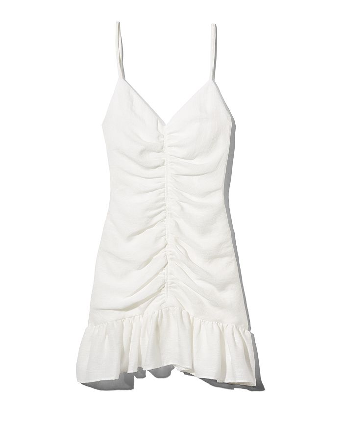 dfb3359c14d The East Order - Celine Ruched Mini Dress