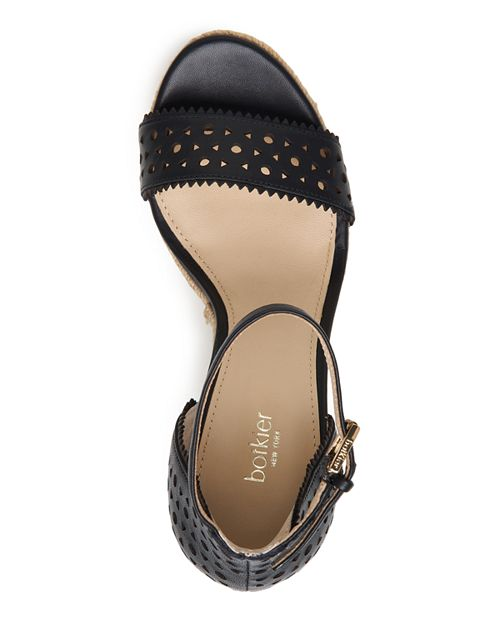 d1c8d929a13 Botkier - Women s Jamie Perforated Leather Espadrille Wedge Sandals