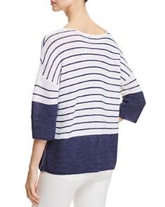 NIC and ZOE - Crossroads Drop Shoulder Stripe Sweater